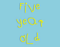Five Year Old - Font