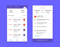 App- Flight Booking User Scenario