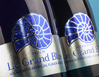 Low-alcohol cocktails design - Le Grand Blue