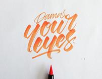 Crayola & Brushpen Lettering Set 3