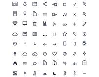 75 Icons Set