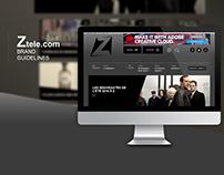 Ztele.com Project - Rebranding