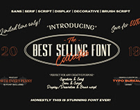 FONT BUNDLE | BEST SELLING FONT 2019 Curated by TBS
