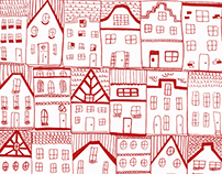 Amsterdam Houses pattern