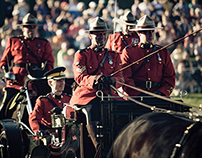RCMP Sunset Ceremonies
