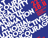 Poster for animation retrospectives