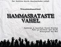 "Theatrical poster ""Hammasrataste vahel"""