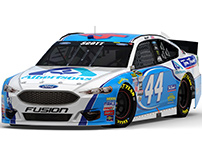 2016 #44 Albertsons / Tom Thumb Ford Fusion
