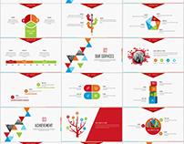 Best business infographics Design PowerPoint templates