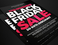 35+ Black Friday PSD Flyer Templates Collection