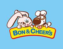 [棒恰恰 Bon & Cheer`s] Kid`s Restaurant Branding