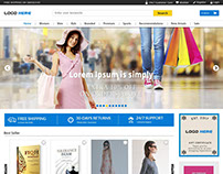 Full width ecommerce website templates free psd downloa