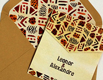 Leonor & Alexandre - Wedding Stationery