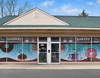 Goobers Bakery | Window Decals