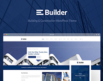 Builder - Building & Construction WordPress Theme