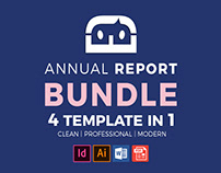 Abstract Company Profile Bundle