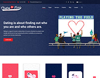 Website Project - Sports dating Landing page