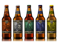Braid & Beard Brewery Branding