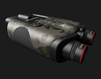 Military Binocular - 3dModel