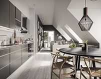 Scandinavian kitchen 68