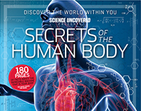 Science Uncovered Bookazines: Layout & Cover Design