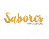 SABORES Frutería online logo
