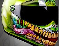 Blazeartworks Zombie Helmet