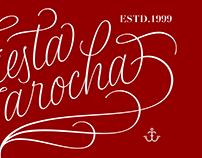 Fiesta Jarocha Lettering Logotype & Monograms