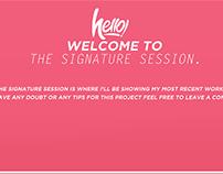 The Signature Session 6