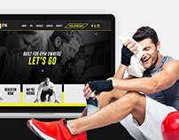 Lets Go Gym Website Design