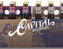 Capital Brewery Re-Brand