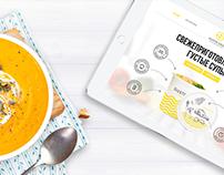 Gusto Soup - Promo site