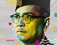 "Malaysia Merdeka 62 2019 ""Happy National day"""