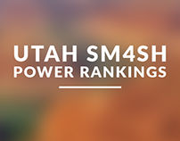 Utah Smash 4 Power Rankings