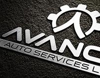 Avance Auto Service Logo & Corporate Identity