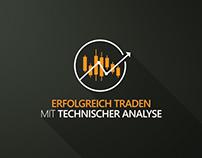 Erfolgreich Traden Logo Animation