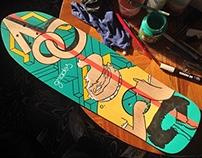 Skateboard custom - Cuerner