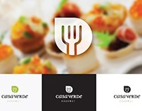 Casa Verde: Diseño de logotipo y etiquetas.