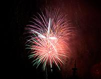 New Year in Valparaiso Bay