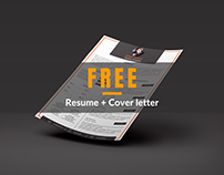 FREE Resume Template + Cover Letter