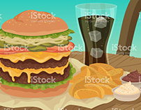 IStock Food Vector Illustrations