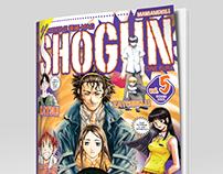 Grafica e impaginazione Shogun manga magazine