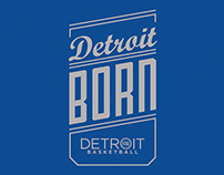Detroit Basketball Campaign Tshirt Concepts