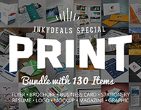 The Ultimate Print Templates Bundle with 130 Items – On