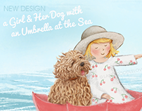 Painting, Visual Design / LABRADOODLE LOVE™