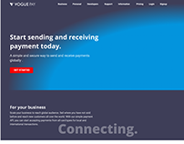 Re-design of the VoguePay Website