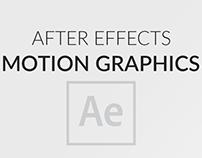 Intros/logo reveals/motion graphics