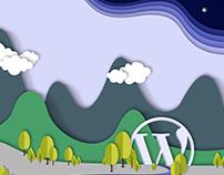 WordPress Costa Rica paperCut Design