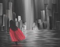 Girl with a Red Cape