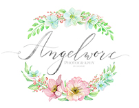 Logo and identity design for Angelworx